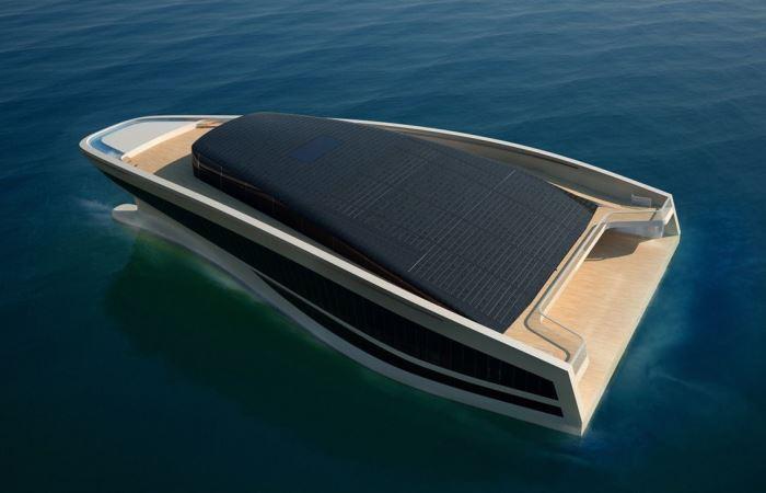 Яхта  Wally Hermes Yachts для самых богатых.