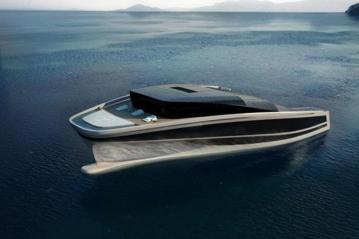 Выглядит  Wally Hermes Yachts очень богато.