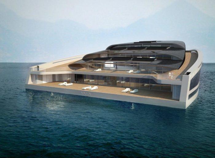 Wally Hermes Yachts - это настоящий дом.