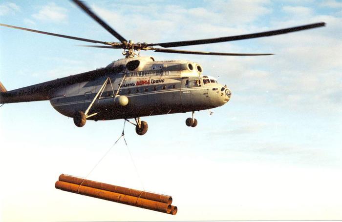 Первый советский вертолет переносящий грузы на подвесе. /Фото: arsenal-info.ru.