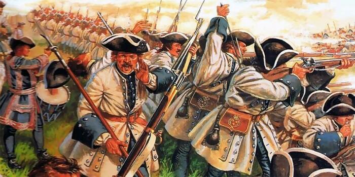 Почему во времена Суворова и Наполеона солдаты воевали линиями и ходили в полный рост