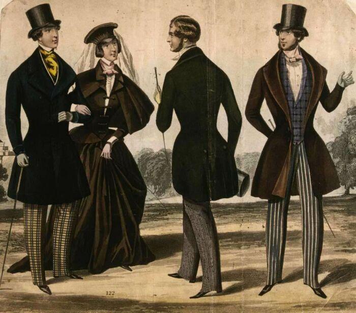 Взлет популярности туфлей пришелся на Викторианскую эпоху.  /Фото: Pinterest.