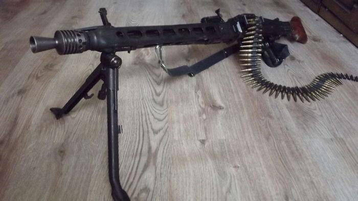 Немецкие пулеметы брали в качестве трофейного оружия. /Фото: allzip.org.