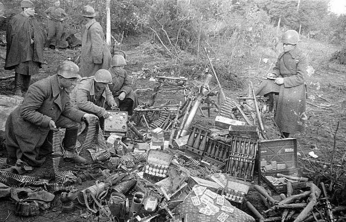 Для чего советские солдаты собирали немецкие пулеметные ленты во время войны