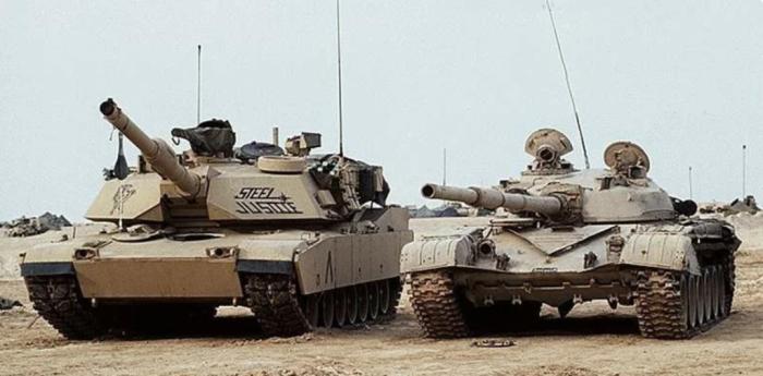 Американские танки крупнее советских. /Фото: yandex.by.