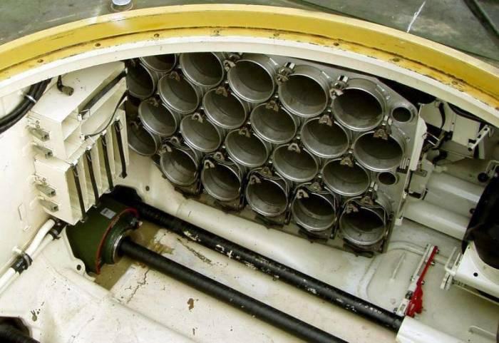 В вытянутой части - боекомплект. /Фото: udachnyj-enot.com.ua.