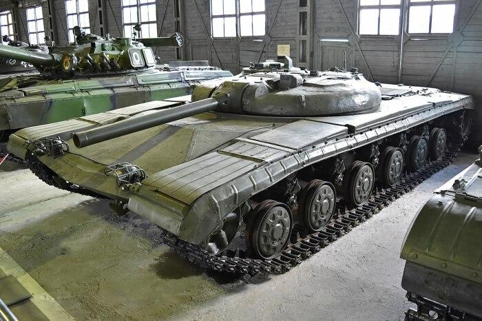 В танке собрали множество интересных идей. /Фото: wikimedia.org.