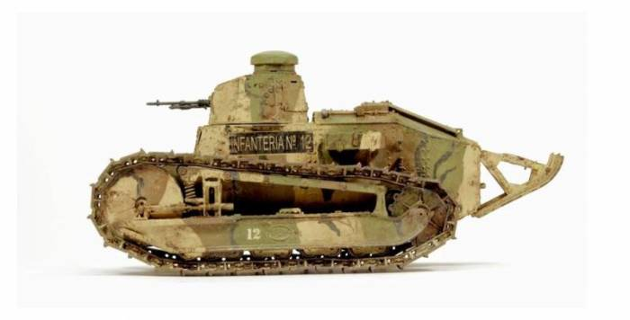 Легки танки стали появляться к концу войны. /Фото: super-orujie.ru.