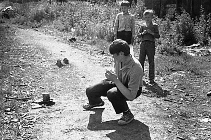 Опасные забавы советской детворы. /Фото: mirtesen.ru.
