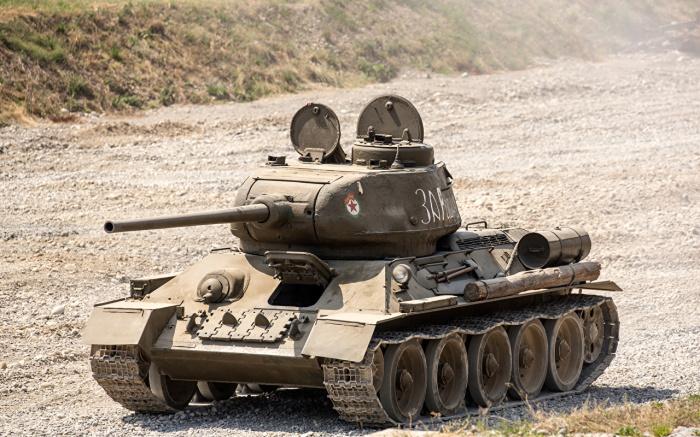 Небольшой выступ на башне танка хорошо заметен. /Фото: 1zoom.me.