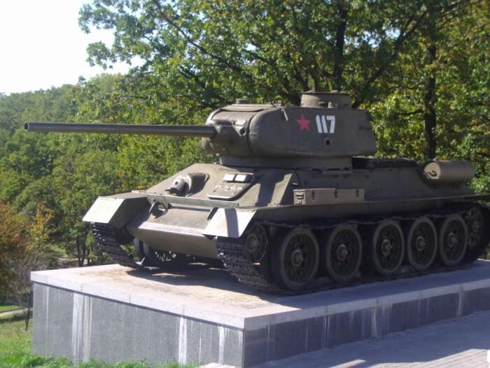 Не все танки имеют такой выступ. /Фото: livejournal.com.