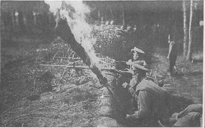 А еще зажигали факелы. /Фото: ya.ru.