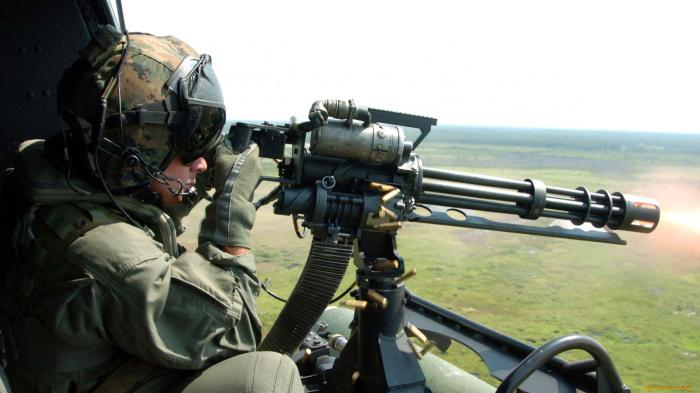Страшное оружие. /Фото: oboi7.com.