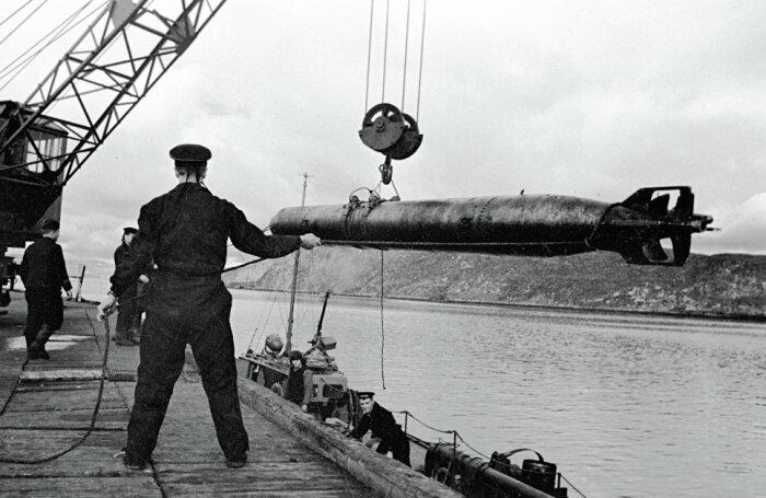 Торпеды только для самых опасных судов. /Фото: blogspot.com.
