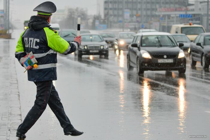 Полиция не дремлет. /Фото: onliner.by.