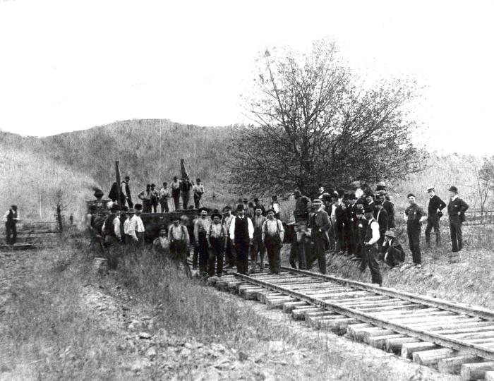 Америка была одним из лидеров в строительстве железных дорог. /Фото: american-rails.com.