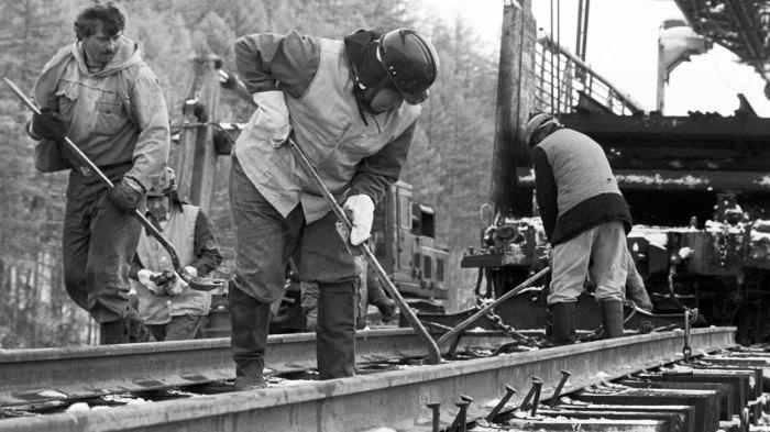 В СССР сделали свою колею. /Фото: livejournal.com.