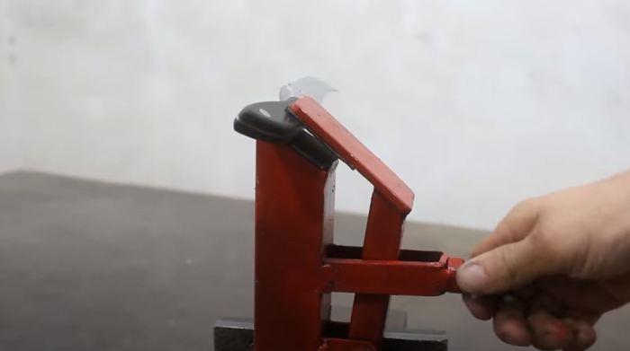 Вот такой инструмент получится. /Фото: youtube.com.