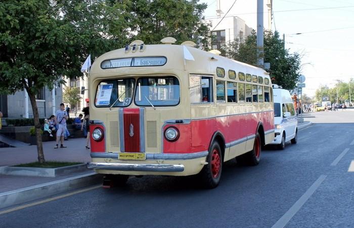 Легенда среди советских автобусов.