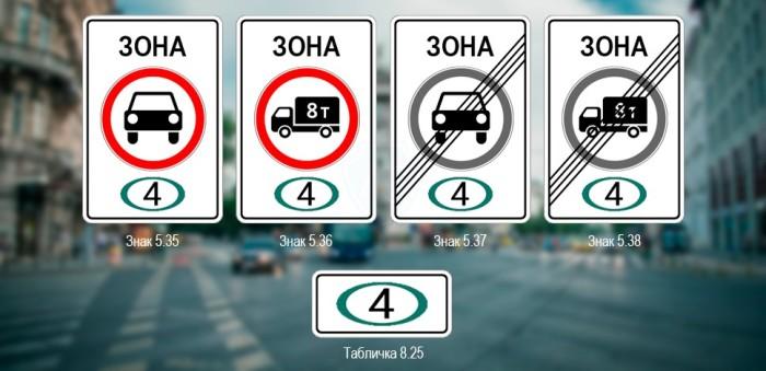Вот такие знаки. /Фото: autotonkosti.ru.