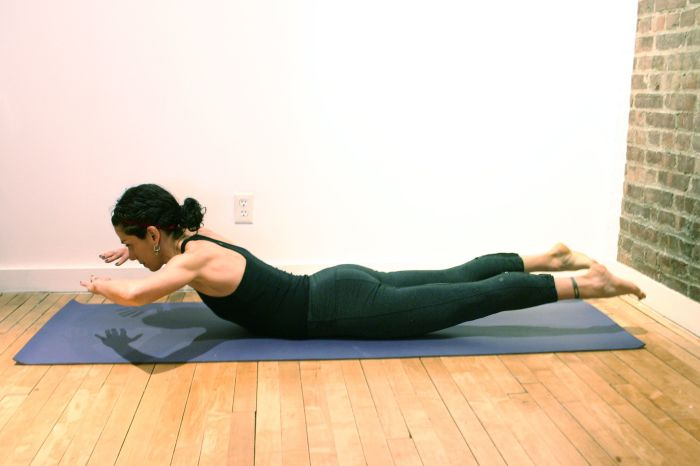 Древние йоги были уверены, что в этой позе человек похож на саранчу