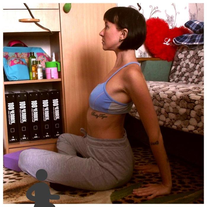 Упражнение для раскрытия грудной клетки