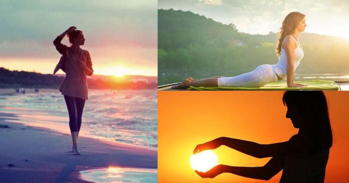 «Приветствие солнцу»: идеальная зарядка, которая подарит позитивное настроение и бодрость на весь день.