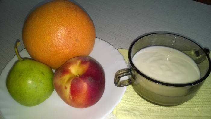 Любимые фрукты для вкусного и здорового завтрака.