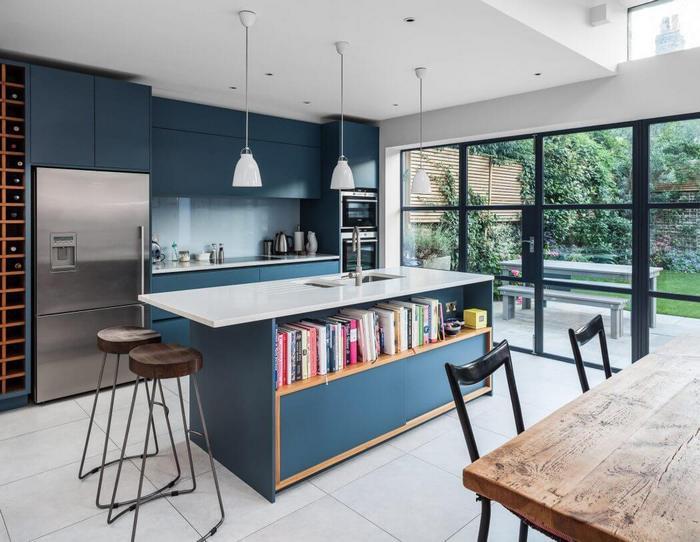Кухня в современном стиле.