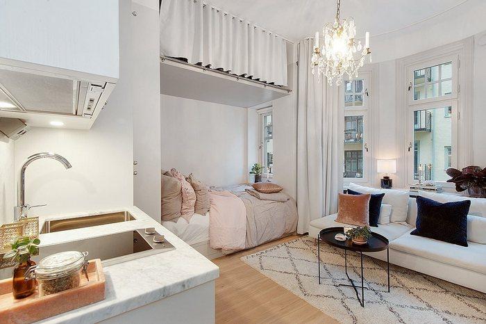Квартира площадью 18 кв.м.