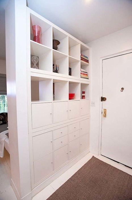 Интересное решение для квартиры-студии.