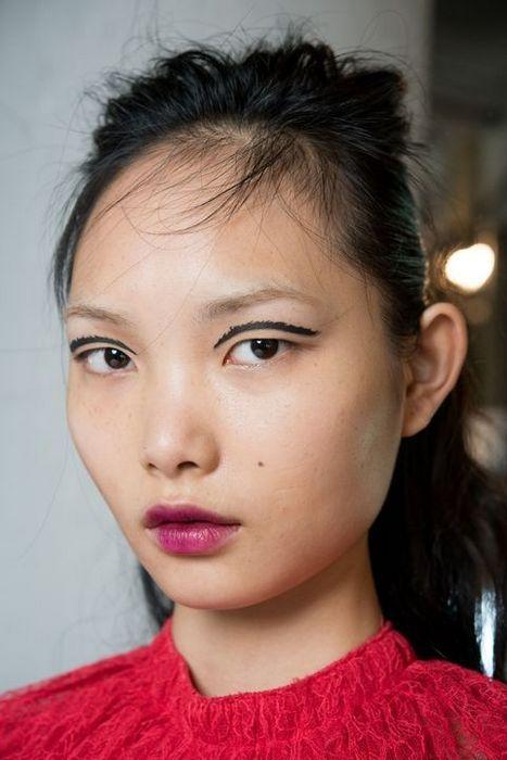 Креативный макияж глаз.