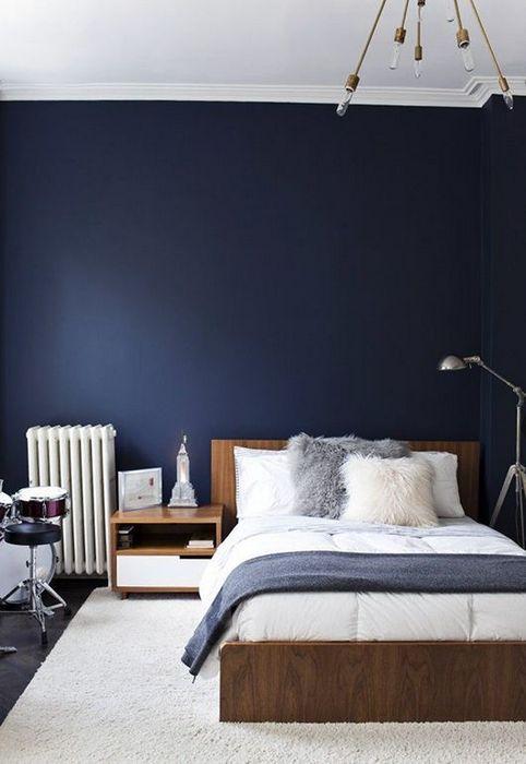 Гармоничный дизайн спальной комнаты.