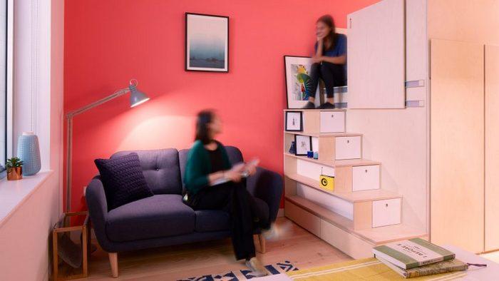 Квартира маленького размера, в которой есть всё для комфортной жизни.