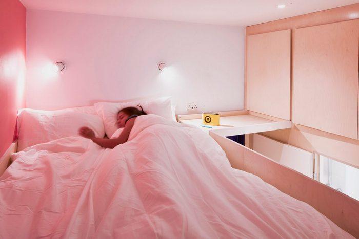 Комфортная спальная зона.