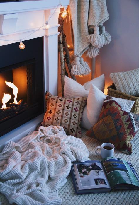 10. Создайте атмосферу уюта.