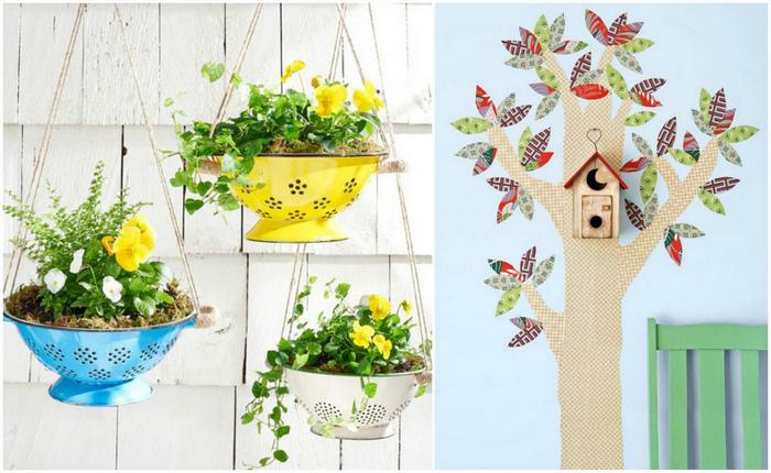 Оригинальные идеи декора для дома.