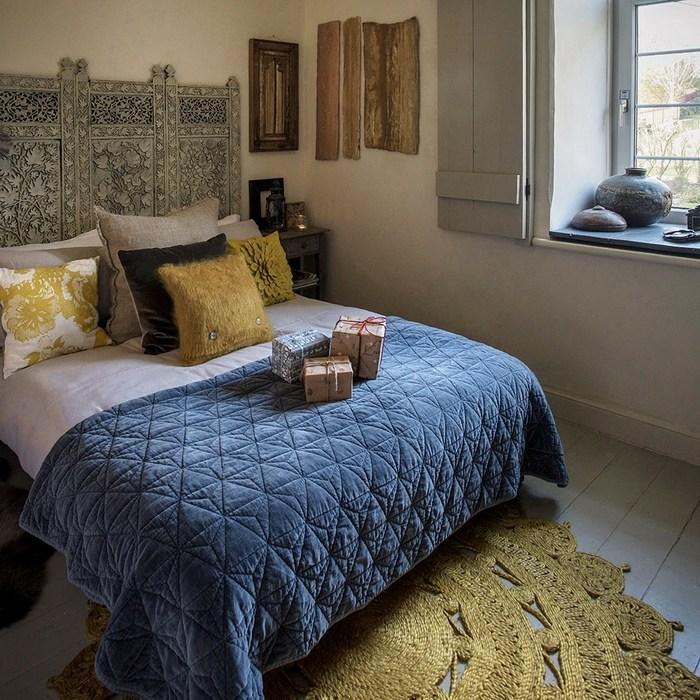 Спальня с марокканскими акцентами.