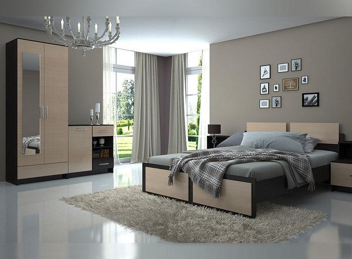 Стильная спальня. Бюджет 15 000 р.