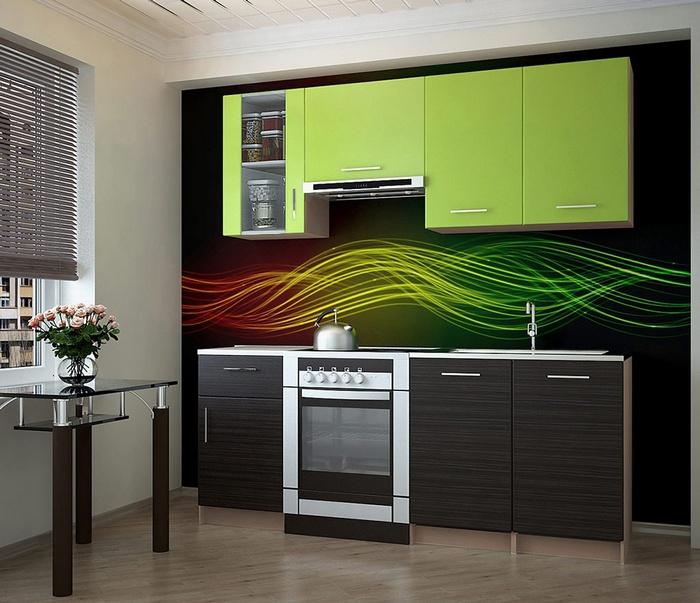 Стильная современная кухня. Цена: 7000 рублей.