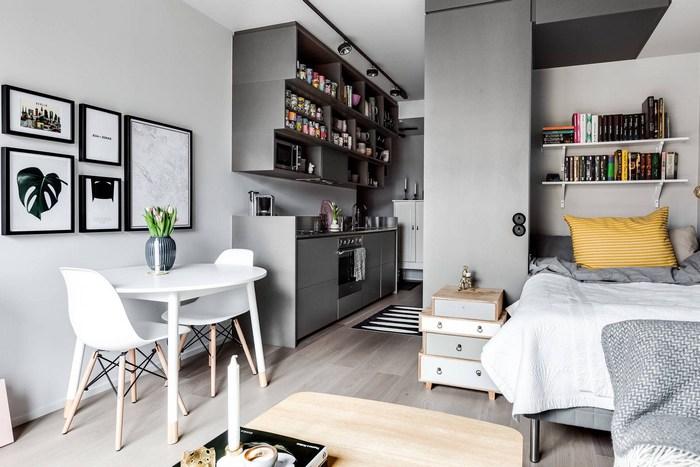 Маленькая стильная квартира.