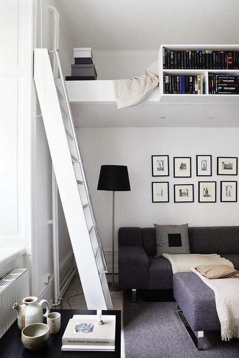 Аккуратное решение для однокомнатной квартиры.