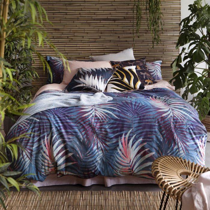 Постельное бельё, с которым интерьер спальни не будет скучным.