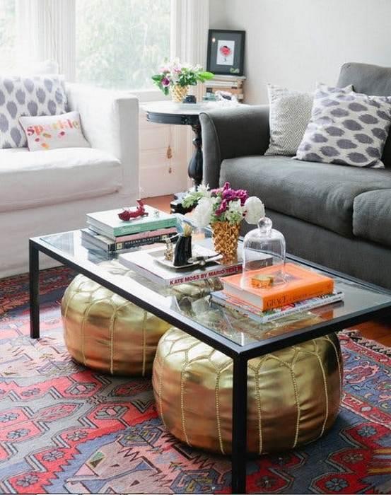 Предметы мебели, которые дополняют друг друга.
