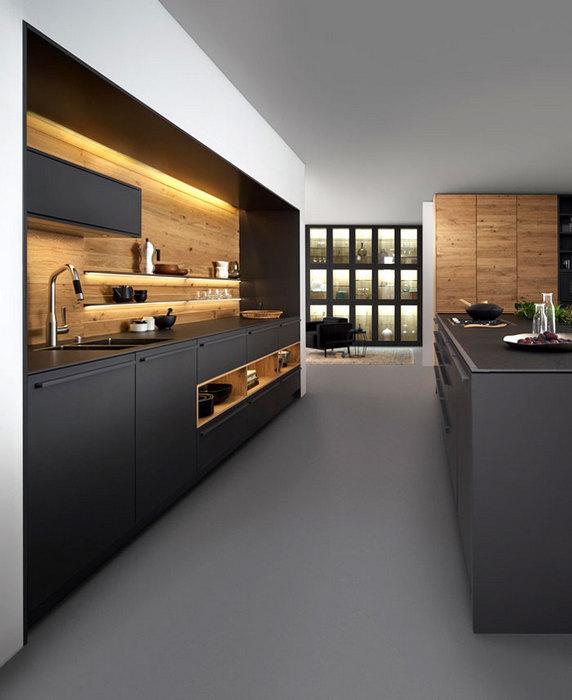 Кухня в промышленном стиле.
