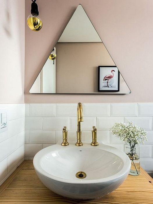 Треугольное зеркало.