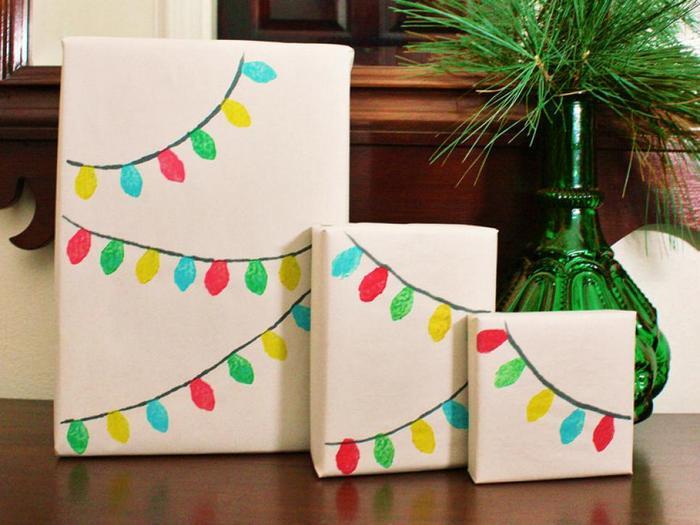 Оригинальная упаковка подарков.