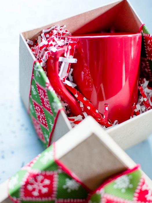 Внутреннее наполнение подарочной коробки.