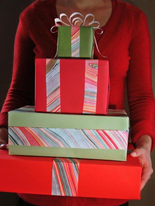 Оригинальные упаковки для новогодних подарков.