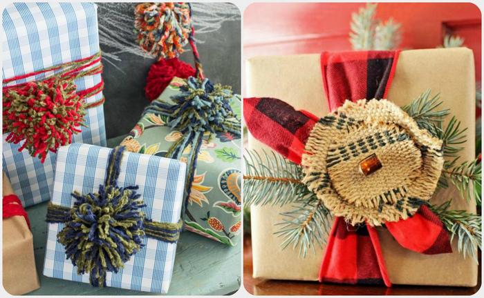 Оригинальные идеи для оформления новогодних подарков.
